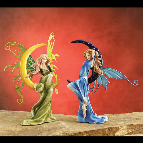 FAIRY ON MOON (SET OF 2)